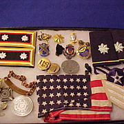 Excellent Mixed US Military Personnel Items - Vietnam War Era