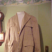Nice Late-Forties British Military Police Beige Jacket