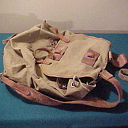 Excellent WWII German Combat Field Pack/Pouch