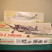 Two Nice Vintage Guillows Balsa Wood Model Plane Kits