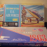 2 Neat Vintage Games - Civil War & US Air Force
