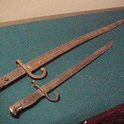 Two Decent Early Bayonets but Need Handles