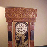 Excellent Ansonia Gingerbread Style 8 Day Mantel Clock