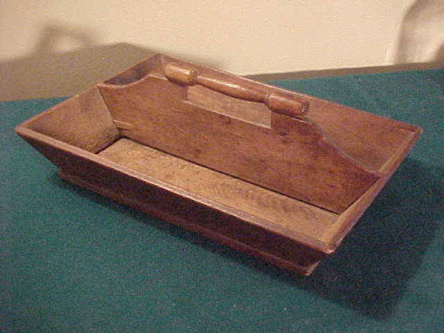 Nice Primitive Knife Carrying Tray or Knife Box