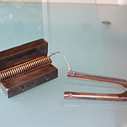 Unusual Clipper Leather Belt Splicing Tool 1800's