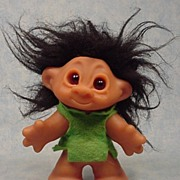 SALE Little Sister Playmate mold Troll