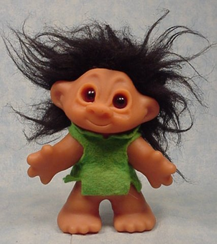 Little Sister Playmate mold Troll