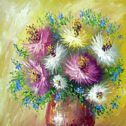 """Sunny still life"" oil painting of Anuch Amerijn."