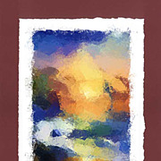 """Summer Sunset"" - limited edition, colour lithography s/n."