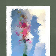 "REDUCED ""Winter Gladiolus"" - limited edition, colour lithography s/n."