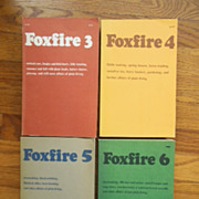 SOLD Foxfire Books Nos. 3, 4,5,6