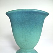 Van Briggle Art Pottery Fan Vase