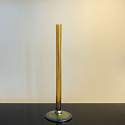 Gold Steuben Aurene Stick Vase