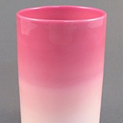 New England Wild Rose / Peachblow Tumbler