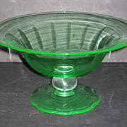 Fry Green Petal Foot Bowl