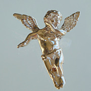 SALE Angel Slide Pendant Sterling Silver