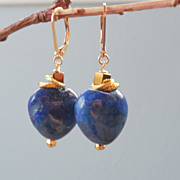 SOLD RESERVED - Lapis Lazuli Earrings