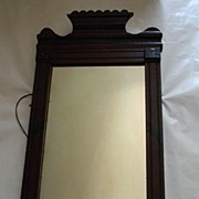 Mahogany Framed Antique Mirror