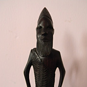 "14"" Wood Carved Sculpture Carving"