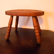 Wood Footstool Foot Stool