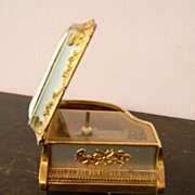 Metal Music Box shaped like Piano