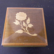 Wood Inlay Box / Music Box . Laras Theme . Doctor Zhivago