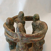 Naked Male Bonding   Sculpture