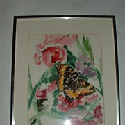 Jane Whipple Artist - Colorful Watercolor Butterfly