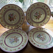 Charles Ahrenfeldt France Limoges Porcelain Dinner Plate Set