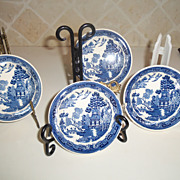 Vintage Wedgwood Willow Blue Fruit/Sauce Bowls
