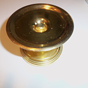 Baldwin Brass Pillar Candle Holder