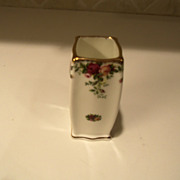 Royal Albert Old Country Roses Square Vase