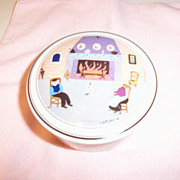 Villeroy & Boch Design Fireside Candy Trinket Box Mint