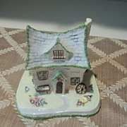"Vintage Coalport ""The Crooked Cottage"" Bone China Cottage"