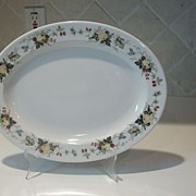Vintage Royal Doulton Miramont  China Oval Serving Platter