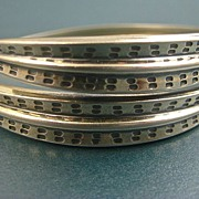SALE David-Andersen Norway Sterling Viking Saga Bracelet / Bangle