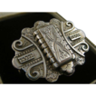 Superb Antique Victorian Aesthetic Period Silver Locket ~ Brooch ~ c1870
