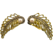 Theodor Fahrner Art Deco Style Earrings ~ Pearl & Silver Vermiel ~ 1950s
