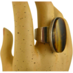Vintage Modernist N. E FROM Sterling & Tiger Eye Ring ~ 1960s