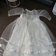 1950's Wedding Dress For Large Doll