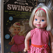 Mattel Swingy Doll - All Original With Bonus!