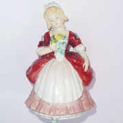Royal Doulton Figurine Valerie Pretty Lady HN 2107