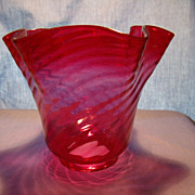Swirl Optic Ruby Shade