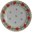 Worcester Flight & Barr Porcelain Poppies & Cornflowers Plate C1790