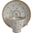 Ridgway London Shape Porcelain Gilded Tea Cup & Saucer C1815