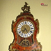 REDUCED Dazzling Beautiful Mantel Clock on Support !!