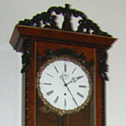 SALE Extraordinary and Charming Lenzkirch Wall Clock !! Price Reduced !!