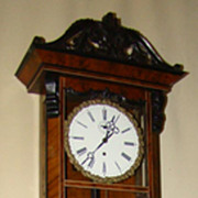 SALE Fantastic and Exceptional Gustav Becker Wall Clock !! Price Drastic Reduced !!