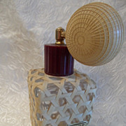 "SALE 50% OFF Vintage ""West Indies Bay Co."" Spray Atomizer Perfume Bottle"