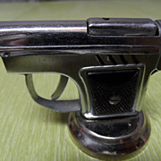 "Vintage Novelty ""Pistolite"" Gun Cigarette Lighter"